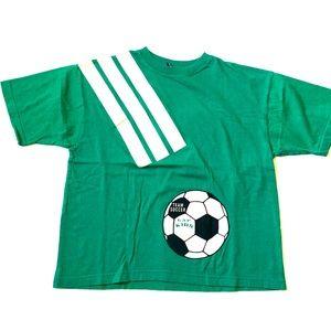 Vintage GAP soccer T shirt youth xl women's small